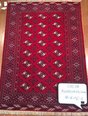 Turkoman, Persian (4' 6'' x 6' 3'')