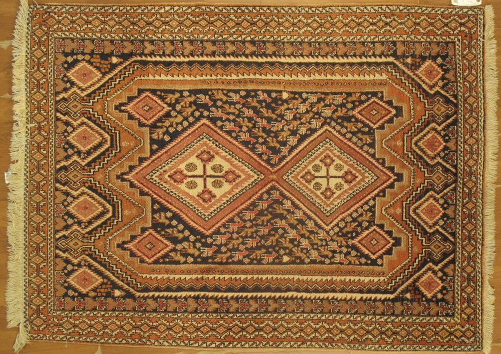"Afshar, Persian (4' 6"" x 6' 7"")"