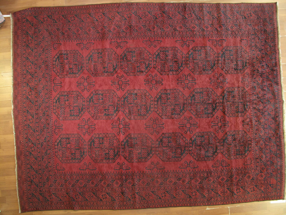 """Afghan, Vintage (9' x 12' 2"""")"""