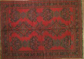 Oushak Turkish Red Green 7-1-x-9-9 full