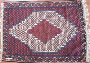 Kilim, Seneh, Persian (3' 11'' x 5' 11'')