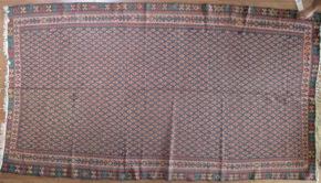 """Flat Weave, Seneh, Persian (5' 7"""" x 9' 11"""")"""
