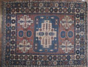 """Flat Weave, Sumac, Afghan (8' x 9' 9"""")"""