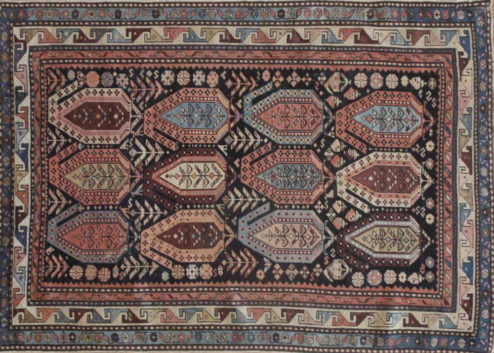 Kazak, Antique (4' x 5' 7'')