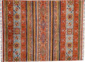 Khorjeen Afghan Multi-Colored 5x6-9 full